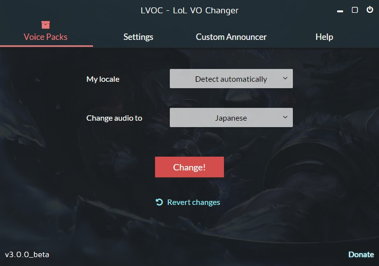 how to get korean voice league of legends
